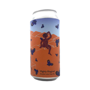 Tallboy and Moose Make Beer - Highly Illogical Double IPA 8% 440ml Can