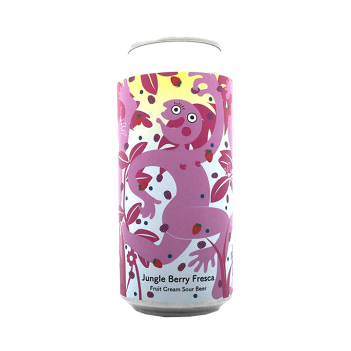 Tallboy and Moose Make Beer - Jungle Berry Fresca Fruit Cream Sour  5.4%  440ml Can
