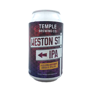 Temple Brewing Co - Weston St. IPA 7.4% 355ml Can