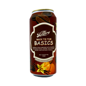 The Bruery - Back To The Basics Imperial Stout 11.2% 475ml Can