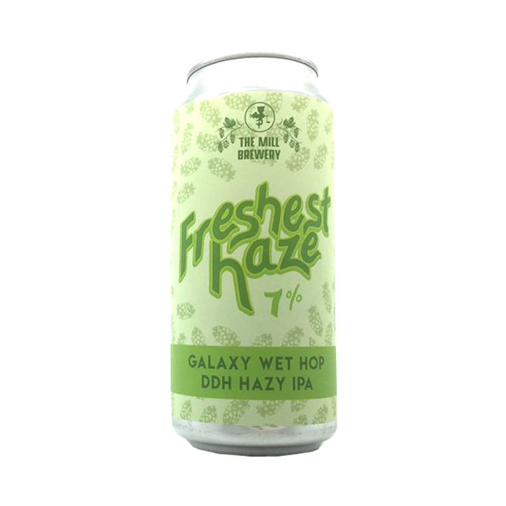 The Mill Brewery - Freshest Haze Galaxy Wet Hop DDH Hazy IPA 7% 440ml Can