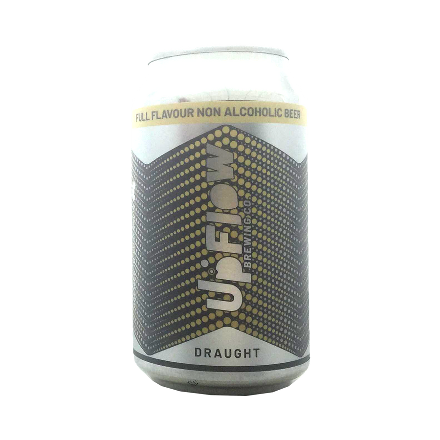 Upflow Brewing Co - Ultra Pale Lager 0% 355ml Can