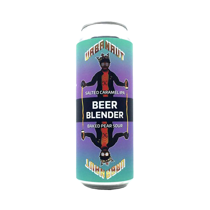 Urbanaut Brewing Co - The Blender Salted Caramel IPA 6% Baked Pear Sour 4.5% 2 250ml Cans