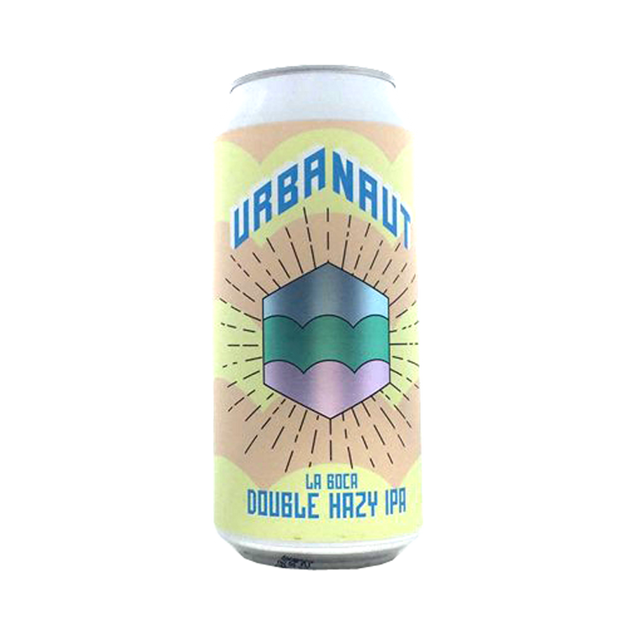 Urbanaut Brewing Co - La Boca Double Hazy IPA 7.5% 440ml Can