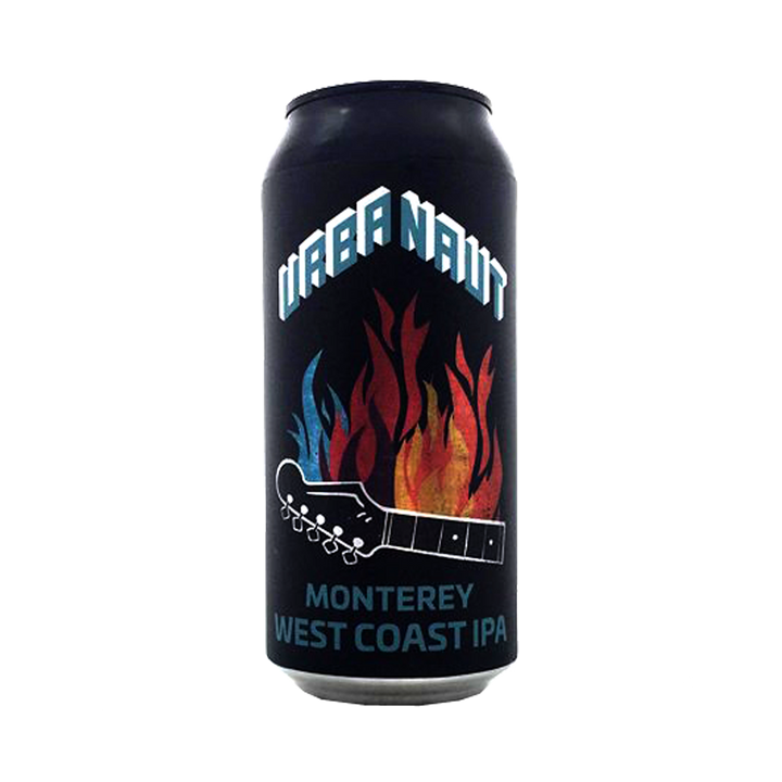 Urbanaut Brewing Co - Monterey West Coast IPA 6.7% 440ml Can