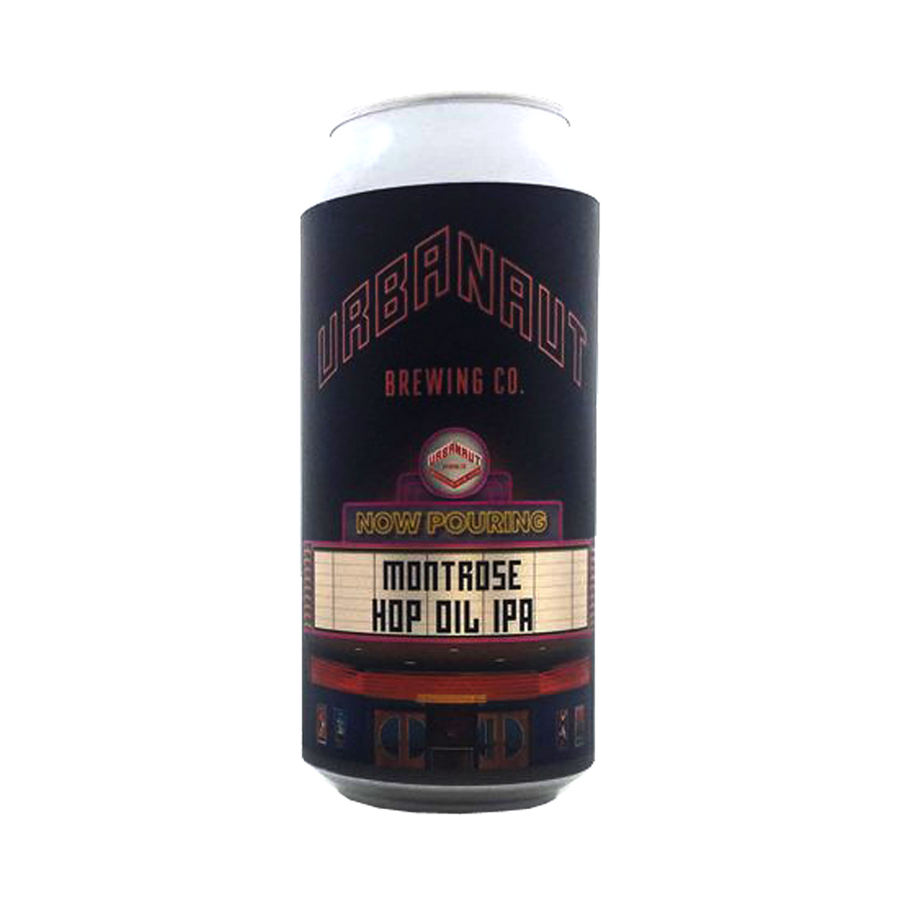 Urbanaut Brewing Co - Montrose Hop Oil IPA 6.6% 440ml Can