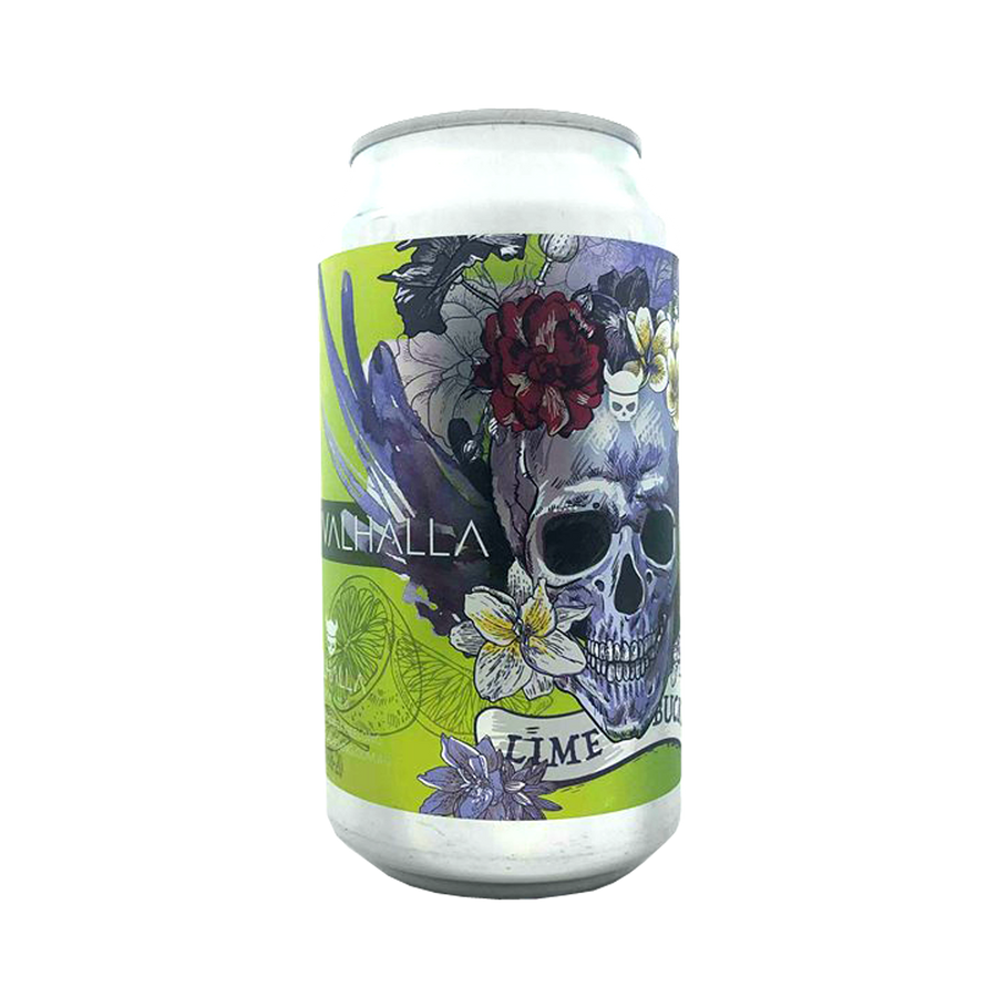 Valhalla Brewing - Lime Bucket Lime Cheesecake Sour 3.7% 375ml Can