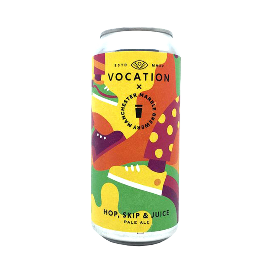 Vocation Brewery - Hop, Skip & Juice Pale Ale 5.7% 440ml Can