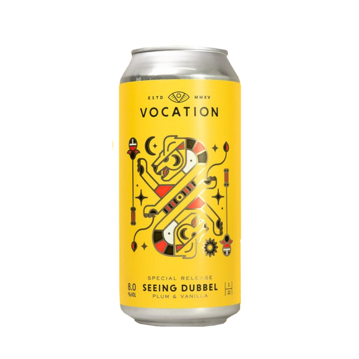 Vocation Brewery - Seeing Dubbel 8% 440ml Can