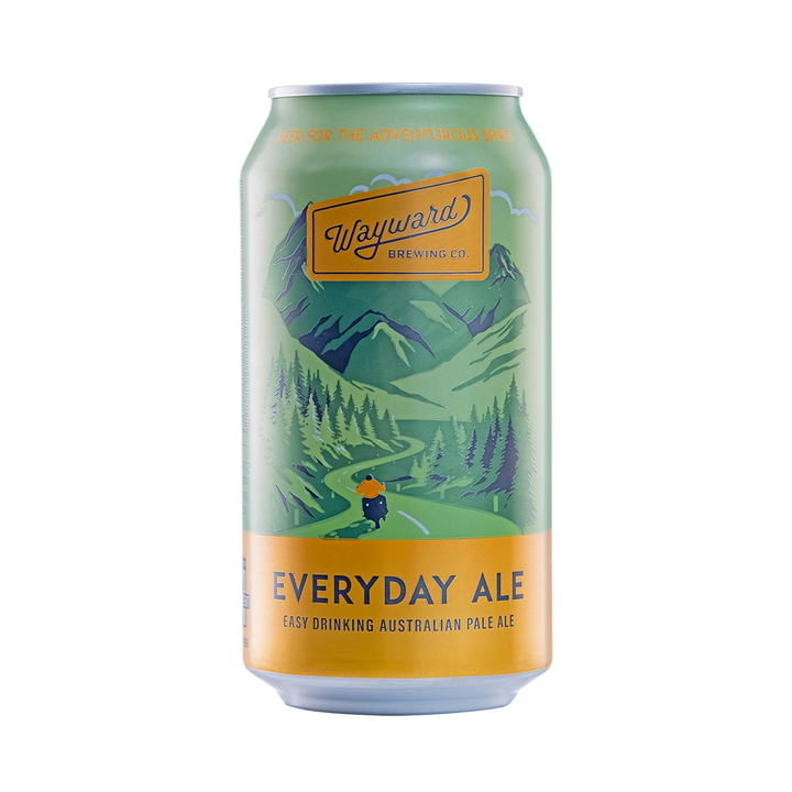 Wayward Brewing Co - Everyday Ale 4.2% 375ml Can