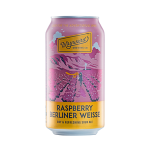 Wayward Brewing Co - Raspberry Berliner Weisse 3.8% 375ml Can