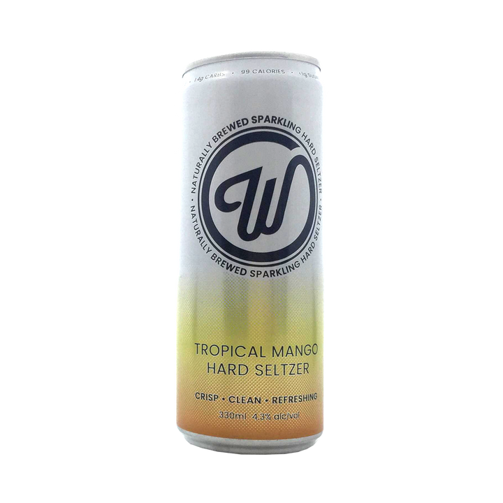 Wayward Brewing Co - Hard Seltzer Tropical Mango 4.3% 330ml Can
