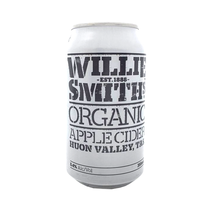 Willie Smiths - Organic Apple Cider  5.4% 355ml Can