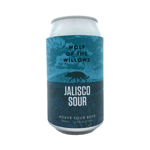 Wolf of the Willows Brewing Co - Jalisco Agave Sour 4.2% 355ml Can