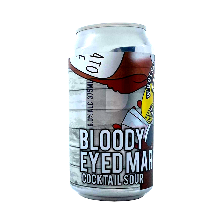 Woolshed Brewery - Bloody Eyed Mary Cocktail Sour 6% 375ml Can