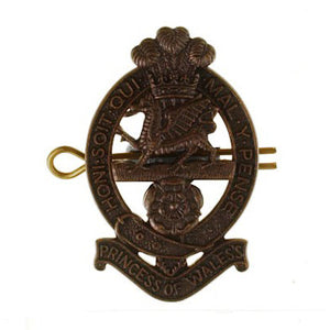 PWRR All Ranks - Cap Badge Beret and No 2 Dress Badge - Shank & Pin - Bronze