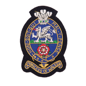 PWRR Blazer Badge - Navy Ground