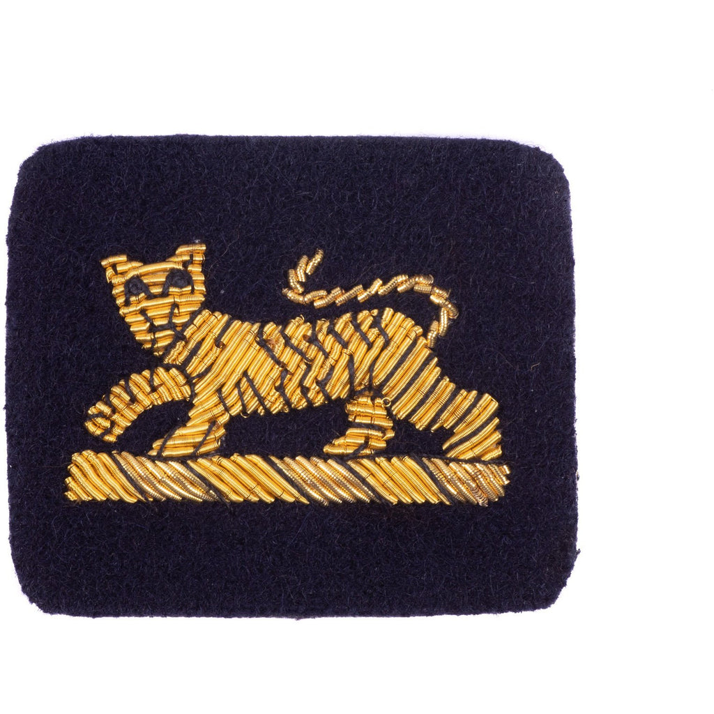 PWRR - Tiger - Ceremonial  No1 & Mess Dress - on Navy Ground