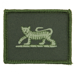 PWRR - Tiger Jungle Hat Badge - PCS - 55mm x 45mm