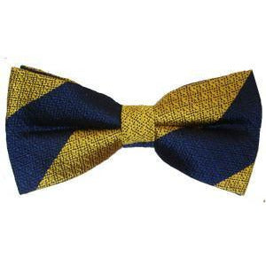 Bow Tie, Self Made - Striped - Silk - Non Crease