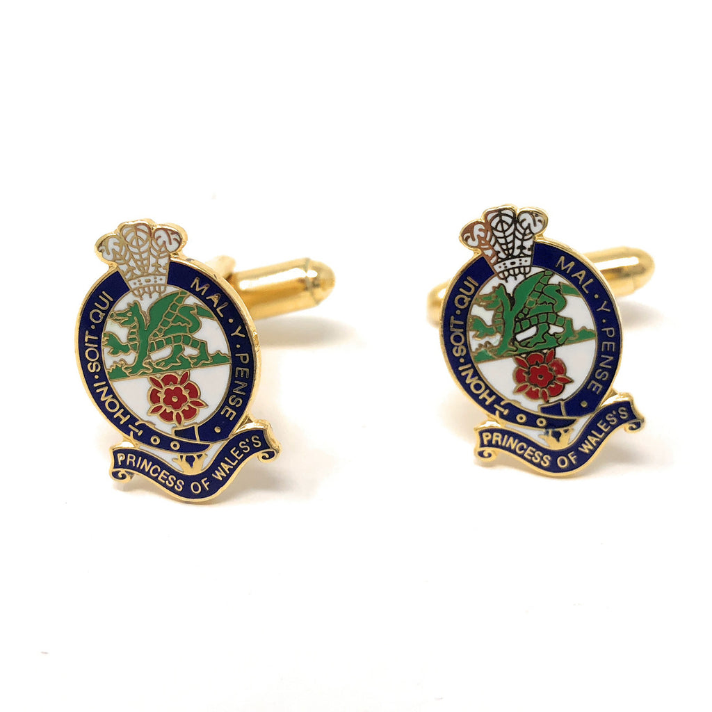 Cufflink - PWRR - Enamelled - Silhouette - Boxed