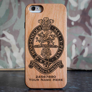 Princess of Wales Royal Regiment Phone Case
