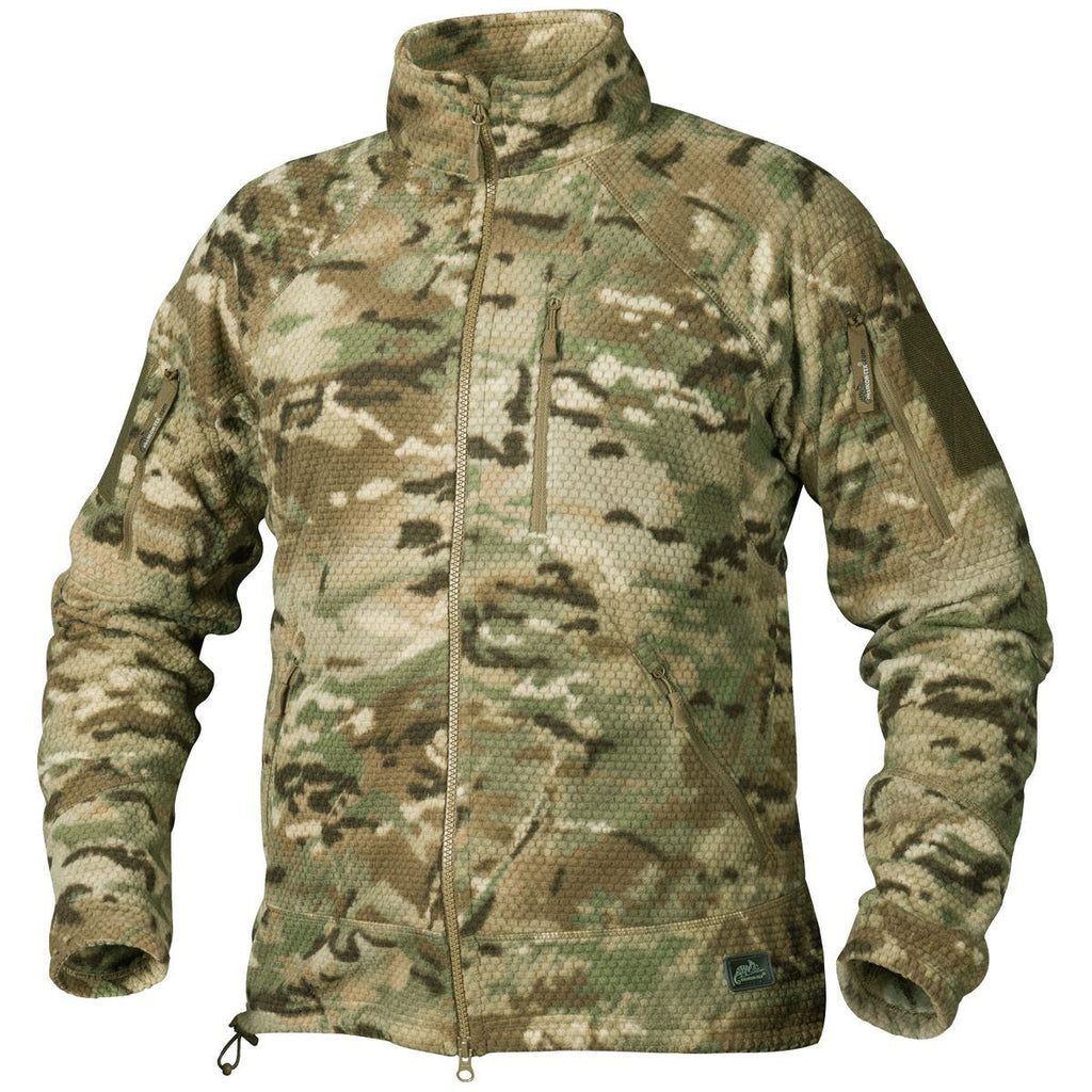 Alpha Tactical Jacket - Grid Fleece - Camogrom®