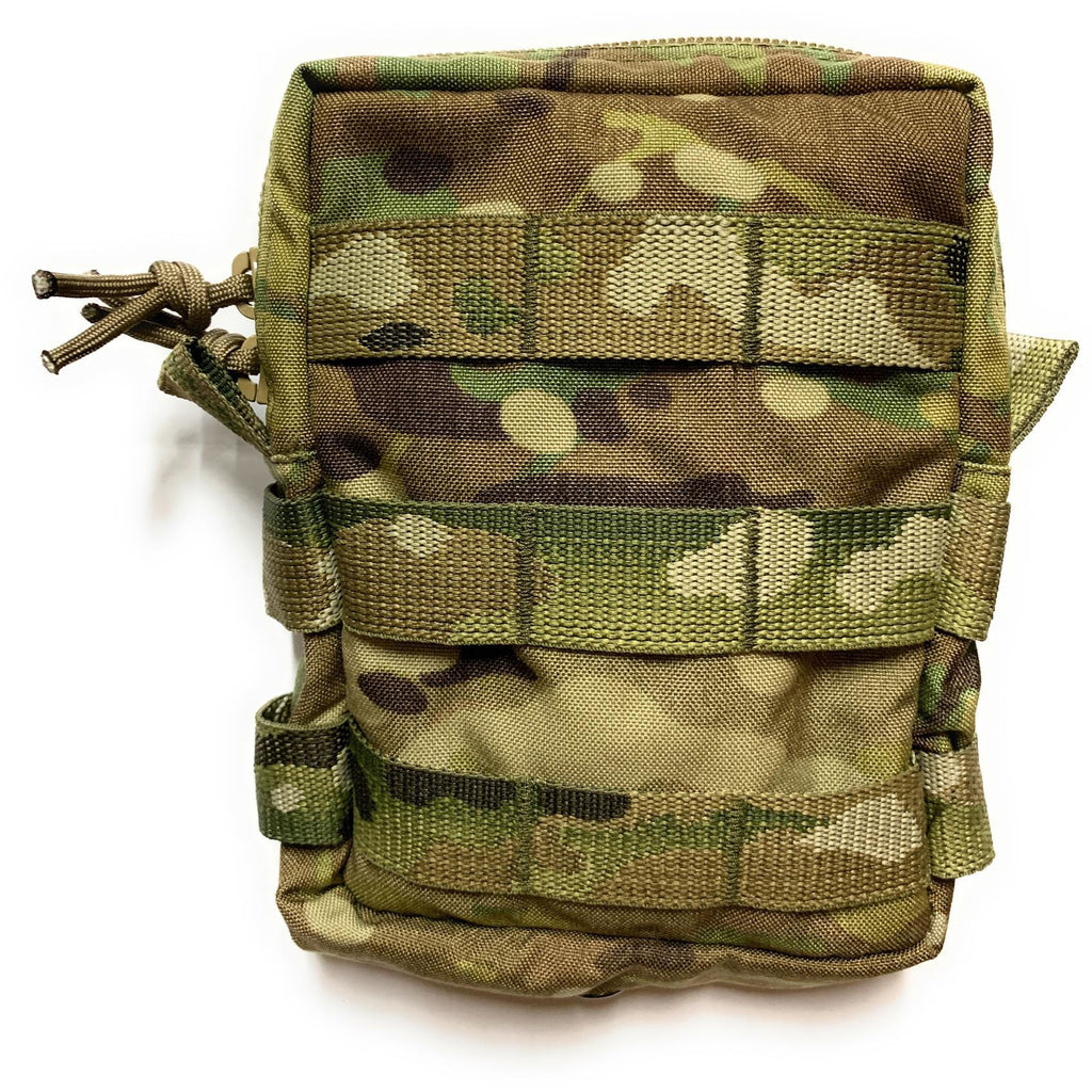 Small Vertical Utility Pouch - Multicam