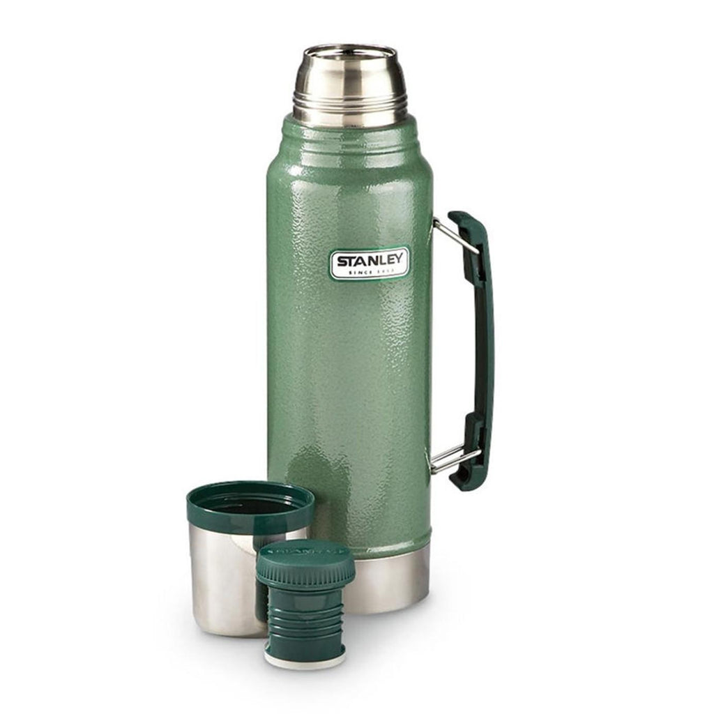 Stanley New Classic Vacuum Bottle 1.0L Hammertone Green