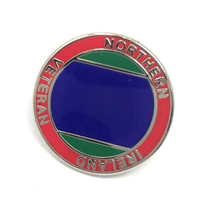Veterans Lapel Pin (Northern Ireland)