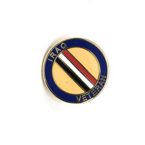 Veterans Lapel Pin (Iraq)