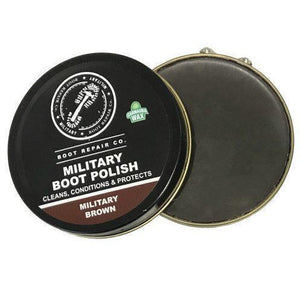 Military Brown Boot Polish