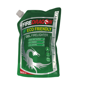 FireDragon green and clean gel fuel - 1000ml or 200ml