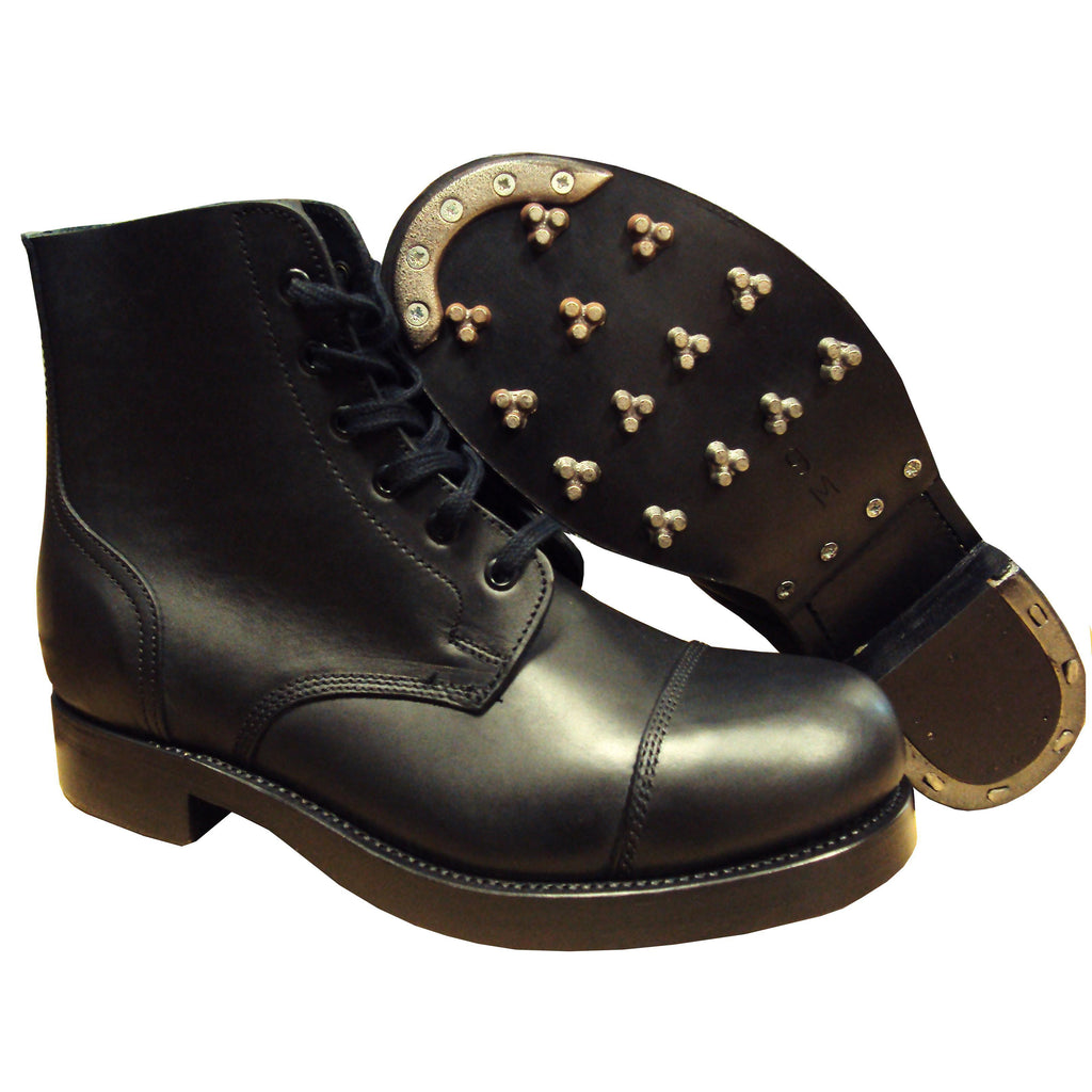 Plain leather Ammo Boot - Triple Sole