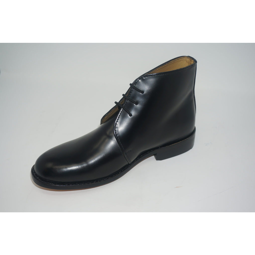 George Boot - Black Leather