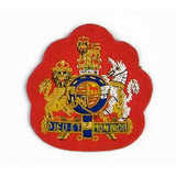Mess Dress - Royal Coat of Arms - WO1  - Gold on Scarlet Ground