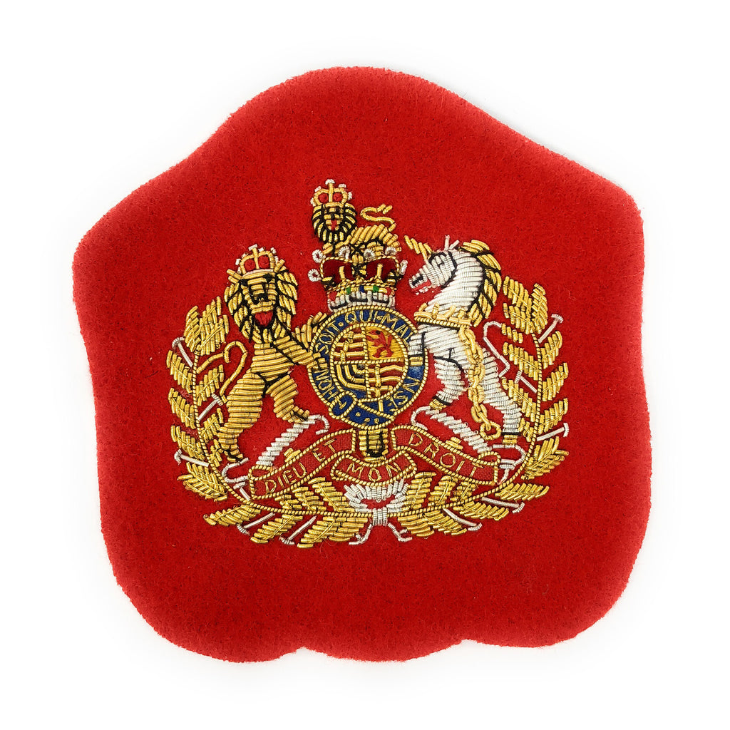 Mess Dress - Senior Warrant Officer worn by Corps RSM & Command SM - Gold on Scarlet Ground