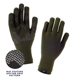 Olive -Seal Skinz Ultra Grip -Extra Large