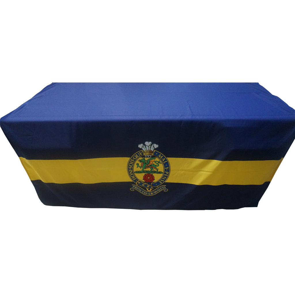 PWRR Desk Cloth with Cap Badge - WHILST STOCKS LAST
