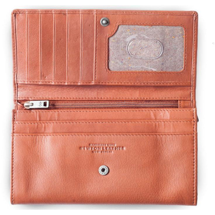 PWRR Engraved Leather Purse (043)