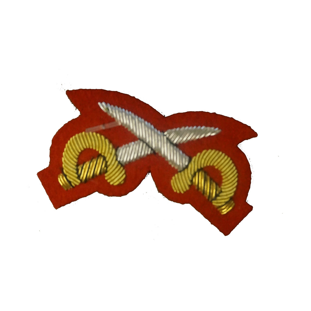 Mess Dress Qualification Badge - PTI Crossed Swords