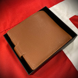 PWRR Soft Leather Engraved Wallet (043)
