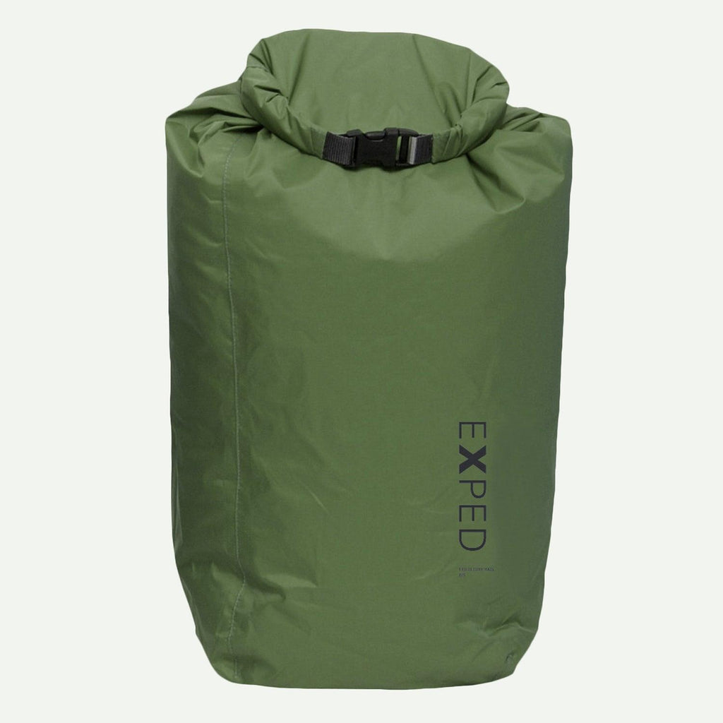 Exped 100% Waterproof Fold-Drybag - Olive - S - 5L