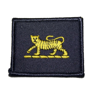 Arm Badge TRF - PWRR - Tiger on Navy Backing - Pack of 5