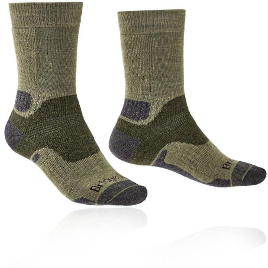 Bridgedale Hike Midweight Merino Performance Original Mens - (Green) (Previously Trekker) [product_type] Bridgedale - Military Direct
