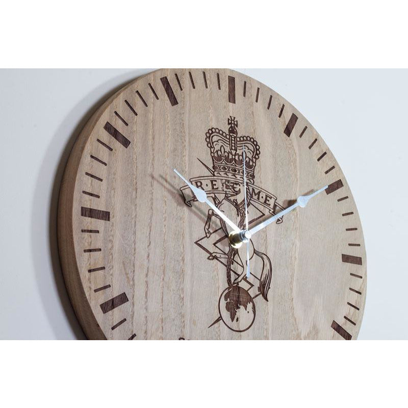 Oak Clock Detail 2