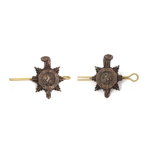 PWRR - No2 Dress Collar badges - Bronze