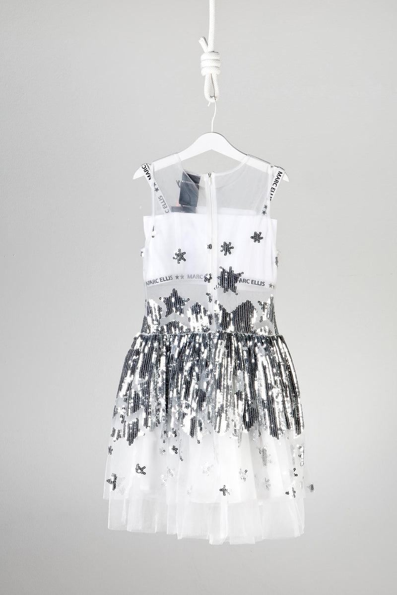 Marc Ellis New York Silver Sequin Dress
