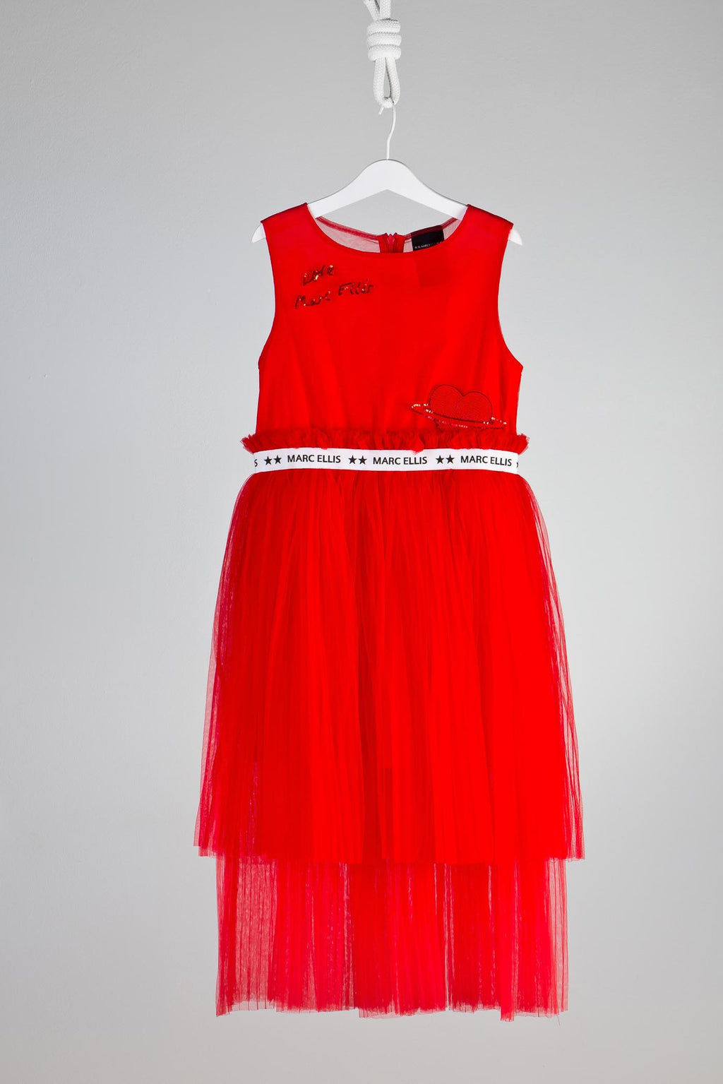 Marc Ellis New York Red Tulle Dress