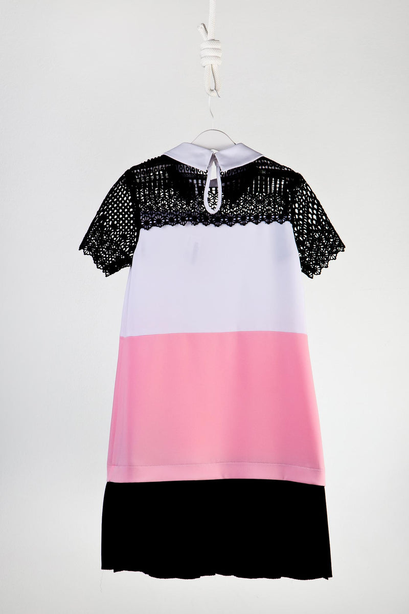 Fun & Fun Colour Block Dress